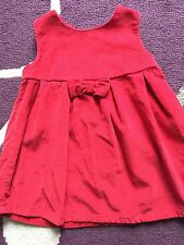 Baby Girl Next Red Dress 0-3 Months
