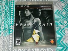 Heavy Rain (Sony PlayStation 3) PS3 CIB Complete - Action/Adventure Game