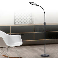 Magnifying Floor Lamp LED Acrylic Lens Light Dimmable Beauty reading Magnifier