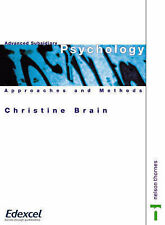 Advanced Subsidiary Psychology - Approaches and Methods, New, Christine Brain Bo