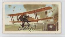 1972 Brooke Bond History of Aviation Tea Base #9 Avro 504 Non-Sports Card 0a4