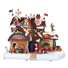 Set//20 Weihnachtsdorf, 04233 Fences With Decoration Lemax