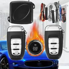 Smart Key RFID Car Alarm System Push Button Start Keyless Lock Ignition Starter