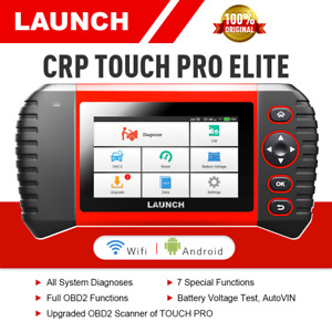 LAUNCH X431 Scanner CRP Touch Pro Elite Full-System Diagnostic Tool ABS SRS TPMS