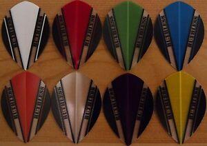 5 Sets (5X3) Ruthless V100 Assorted Pear Shaped Dart Flights