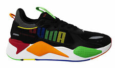 Puma RS-X Bold Black Multi Lace Up Mens Running Trainers 372715 01
