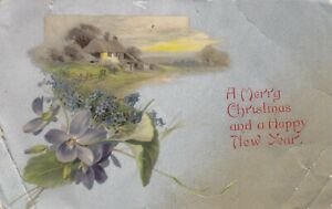 Postcard - A Merry Christmas and a Happy New Year (Pub: Wildt & Kray)