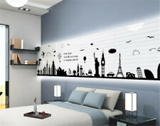 World Famous Buildings Room Home Decor Removable Wall Sticker Decal Decoration