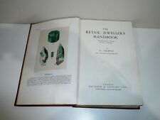 THE RETAIL JEWELLERS  HANDBOOK BY A SELWYN DATED 1946  WITH IMAGES OF JEWELLERY