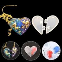 Love locks for lovers Pendant Silicone Mold DIY Epoxy Resin Moulds Jewelry Craft