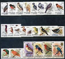 Cook Islands Aitutaki 1981 QEII 'Birds' set complete superb MNH. SG 317-352.