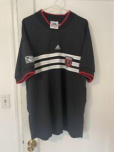 1998 DC United Soccer Jersey adidas XL MLS NASL USL 1996 1997 USA
