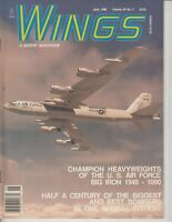 Wings A Sentry Magazine June 1990 Champion Heavyweights of the Air Force Bomber