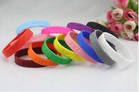 2 Pcs Nike Sports Silicone Wristband Bracelet