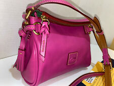 DOONEY & BOURKE FLORENTINE VIOLET PINK MINI ZIP CROSSBODY Bag 8L664 ~VERY RARE!!