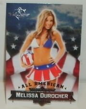 BENCHWARMER  BUBBLE GUM 2013 - ALL AMERICAN INSERT #6 - MELISSA DUROCHER - HOT!!