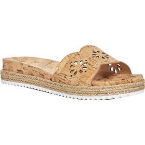 Kate Spade Womens Zane Cork Slip On Espadrilles Slide Sandals Shoes BHFO 8539