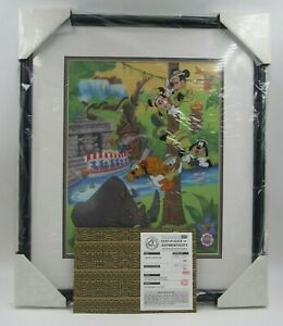 "Disneyana Convention 1999 ""Fab Five Safari Surprise"" Limited Edition Serigraph"