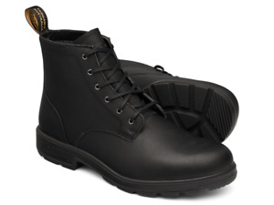 Blundstone 1617 Leather Lace Up Black-Non Safety