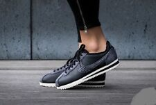 "Nike Classic Cortez Premium ,,Snake"" 905614-002 Wmn Sz 7 Black/Sail Leather"