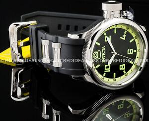 Invicta Men CLASSIC RUSSIAN DIVER Swiss Movement Sp Ed Silver Black Strap Watch