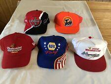 VINTAGE 5 NASCAR RACING HATS