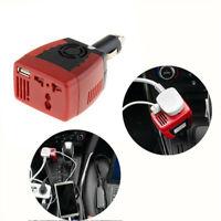 Car Charger USB Inverters DC 12V/24V to AC 220V Charge Power Converter Adapter
