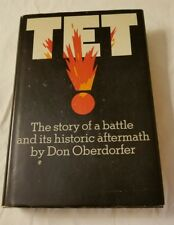 TET The Story of Battle & Historic Aftermath Don Oberdorfer HBDJ SIGNED 1stEd 71
