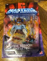 2003 Masters of the Universe MOTU Fire Armor Skeletor NIB NEW Sealed