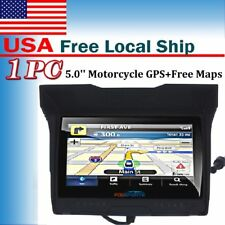 "5.0"" Motorcycle Motobike Car Waterproof GPS Navigation SAT NAV 8GB 256M NA Maps"