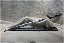 HANDMADE JAPANESE SHRINE NINJA SECT FULL TANG SAMURAI KATANA SWORD SHARP BLADE