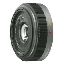 USED Panasonic LUMIX G 20mm f/1.7 ASPH. H-H020 Excellent FREE SHIPPING