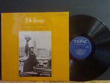 TOPIC SAMPLER NO. 6. Folk Songs  LP    Shirley Collins etc   NEAR-MINT !!