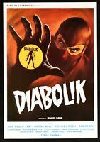 Plakat Diabolik Mario Schleim John Phillip Gesetz Marisa Mell Kino Poster PP1