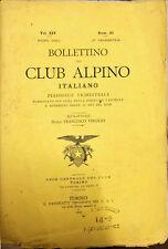 BOLLETTINO DEL CLUB ALPINO ITALIANO 1880 - NUM. 42