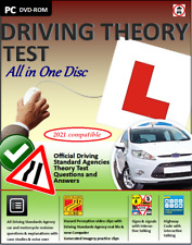 More details for driving theory test all in 1 disc for 2020 2021 & hazard perception cd dvd rom