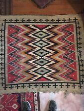 "Native American Navajo Childs Blanket , Rug, Closet Find 50""x56"""