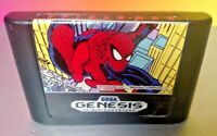 Spider-Man  - Sega Genesis Game Rare Tested + Working AUTHENTIC Spiderman