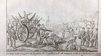 Plaine de Grenelle 1791 Verberie Oise Rare Gravure Révolution Française