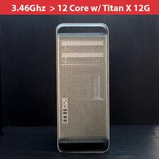 Apple Mac Pro 3.46Ghz 12-Core [MC561LL/A 2010] 64GB RAM /2TB HDD / TITAN X 12G