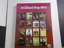 * 2006 Greatest Pop Hits Songbook-Piano-Vocal-Guit ar Alfred Music