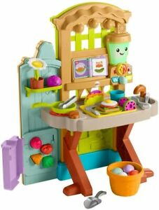Fisher-Price Laugh & Learn Grow-the-Fun Garden to Kitchen - Open Box