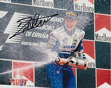 Jacques Villeneuve Hand Signed Williams Formula 1 10x8 Photo 5.