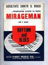 MIRAGEMAN ED I SUOI RHYTHM AND BLUES#Spartito First Music Co.1967#Gulp-Thrilling
