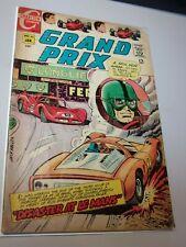 Grand Prix #23 Charlton Comics Bronze Age Disaster At Le Mans