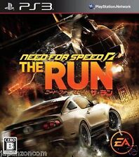 Used PS3 Need for Speed: The Run SONY PLAYSTATION 3 JAPAN JAPANESE IMPORT