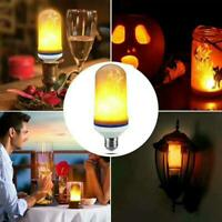 9W E27 LED Lamp Flicker Flame Light Bulbs Burning Fire Flicking Lamps 4 Mode