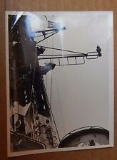 Photograph Military history radar Antenna HMS Victorious  1960's