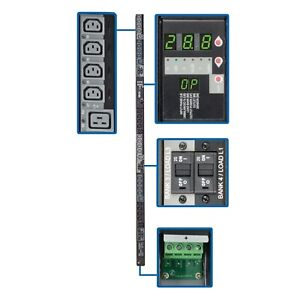 Tripp Lite 28.8kW 3-Phase Switched PDU, 240/230/220V Outlets (24 C13 & 6 C19)