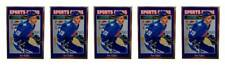 (5) 1992 Sports Cards #133 Joe Sakic Hockey Card Lot Quebec Nordiques